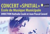"""Concert """" spatial """" de l'école de musique"""