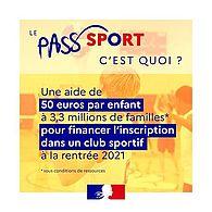 Qu'est-ce que le Pass'Sport ?